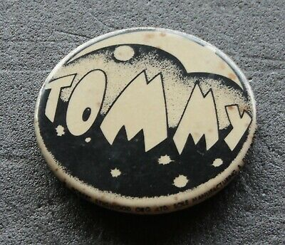 The Who Original 1975 Tommy 2.25  Promotional Pin Badge • 12£