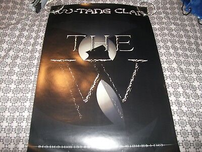 The Wu-tang Clan The  W  Promotional Poster • 15£