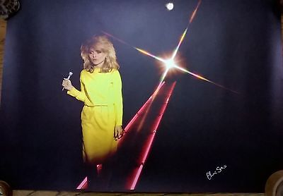Debbie Harry SIGNED Chris Stein Blondie Lithograph Poster Autographed • 75£