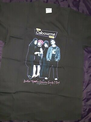 The Osbourne Family T-Shirt XL  Another *&@#'in Osbourne Family T-Shirt  2002... • 22.09£