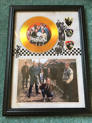 The Specials / Ska / Two Tone A4 CD Picture Disc Montage In Black Frame • 14.99£