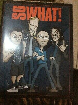 The Metallica Fan Club Magazine So What Volume 22 • 3.99£