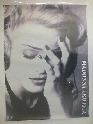 Madonna Extremely Rare 1992 UK Erotica Promotional Only Poster 23  X 33  Approx • 139.49£