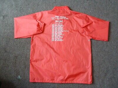 TINA TURNER  Red X L Waterproof Site Jacket With Concealed Hood. • 30£