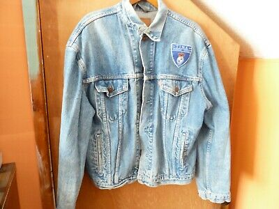 TINA TURNER Large Blue Levi Strauss Denim Jacket. Foreign Affair Tour 1990. • 45£