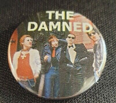 The Damned Button Badge Punk • 2.99£