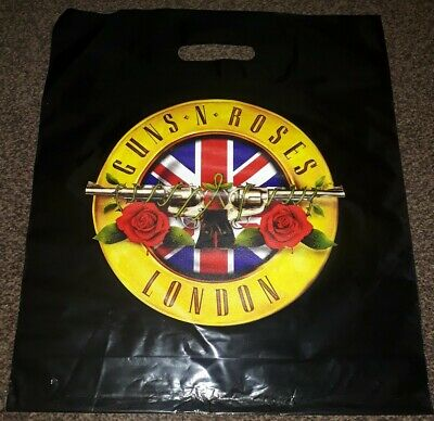 Guns N' Roses Exclusive Carrier Bag From Uk Pop Up Shop • 3£