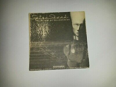 Soulfly/Spineshank Beer Mat/Coaster Very Rare Roadrunner Records • 0.99£