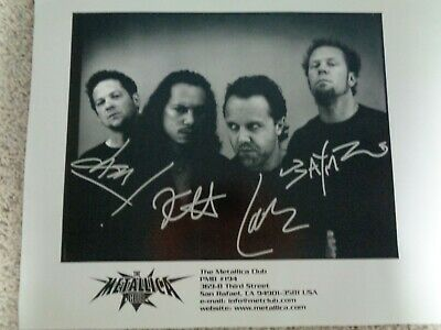 Rare Circa 2000 Metallica Met Club Full Band Limited Edition Poster  • 60.03£