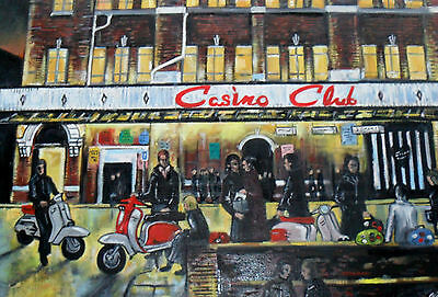 Scooters At The 3 Northern Soul Clubs, 3 Signed Limited Edition Prints • 21.95£