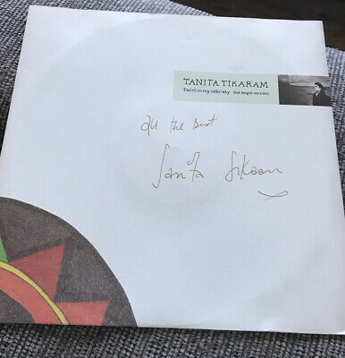 'Twist In My Sobriety' Tanita Tikaram SIGNED 12in VINYL. • 25£