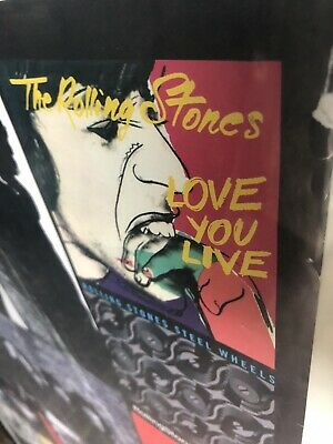 Rolling Stones Large Iconic Poster Print   • 12£