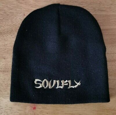 Soulfly Rare Beanie Hat Nu Metal Collectable Sepultura  • 6.99£