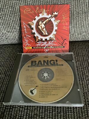 Bang Holly Johnson Gill Rutherford Nash Mark SIGNED CD Frankie Goes To Hollywood • 25£