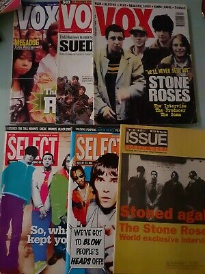 The Stone Roses - Collection Of Rare Magazine's OOP  • 45£