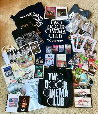 Two Door Cinema Club, Massive Fan Pack, T Shirts, Itineraries, Laminates, Passes • 199£