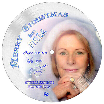 ABBA/FRIDA - STUNNING Collector's Edition 7  Christmas Picture Disc • 59.99£