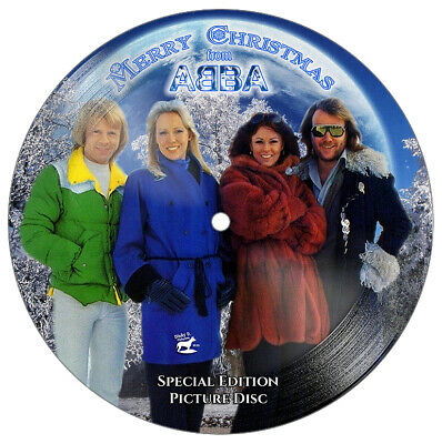 ABBA - STUNNING Collector's Edition 7  Christmas Picture Disc • 59.99£