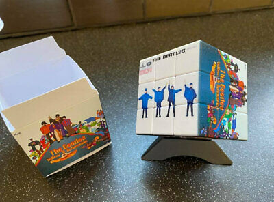 The Beatles Rubiks Cube And Presentation Box. Brand New.        • 15£