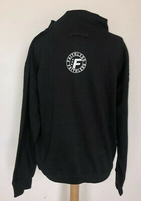 FAITHLESS Band Tour 2010 Black Hoodie New Size L KEEP WARM AND AND RAVE ON • 7.99£