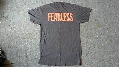 FEARLESS Black XL T.shirt • 5£