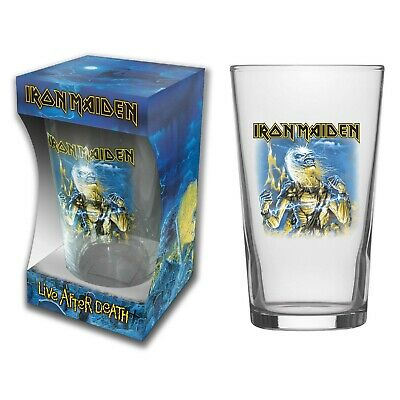Iron Maiden Live After Death Beer Glass (rz) • 10.99£
