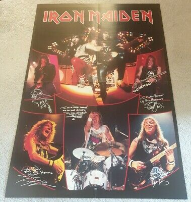 Iron Maiden - Huge Magazine Poster (Double Sided) • 6.95£