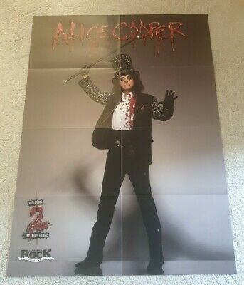 Alice Cooper - Huge Magazine Poster (Double Sided) • 6.95£