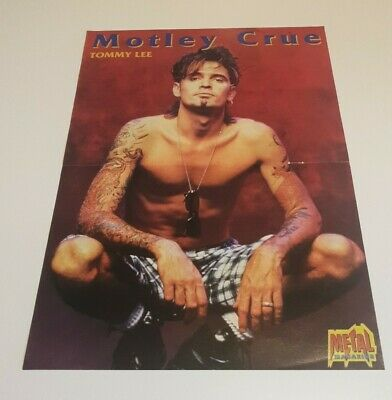 TOMMY LEE (Motley Crue) - Magazine Poster • 4.95£