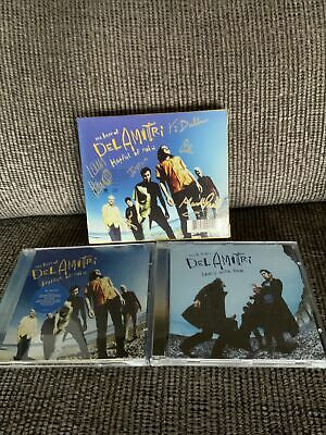 'Hatful Of Rain' Del Amitri SIGNED DOUBLE CD Justin Currie Iain Harvie + 4 More • 25£