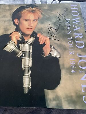 'Howard Jones Japanese Tour '84' SIGNED TOUR PROGRAMME • 35£