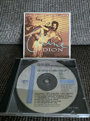 'The Colour Of My Love' Celine Dion SIGNED CD • 25£