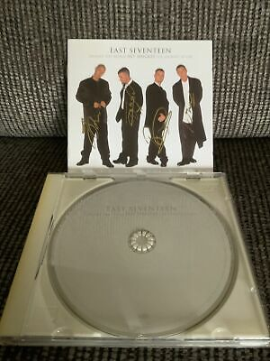 'Around The World-Hit Singles-The Journey So Far' East 17 SIGNED CD • 25£