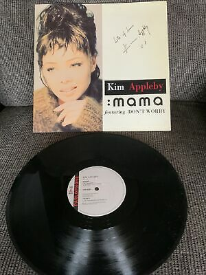 "'Mama' Kim Appleby SIGNED 12"" • 25£"