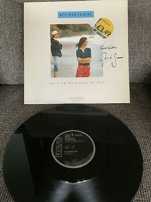 "'Waiting For A Star To Fall' Boy Meets Girl SIGNED 12"" Merrill Shannon Rubicam • 25£"