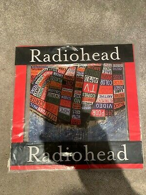 Radiohead Hail To The Thief Promo Hanging Display Mint Condition • 50£