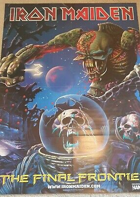 Iron Maiden - (TFF) - (FFTE) - HUGE (Double Sided) Magazine Poster • 6.95£