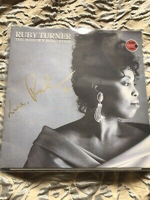 'The Motown Songbook' Ruby Turner SIGNED LP • 35£