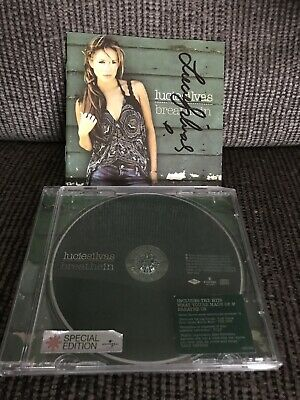 'Breathe In' Lucie Silvas SIGNED CD • 36£