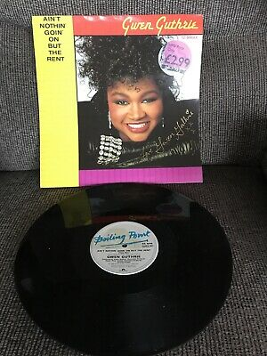 "'Ain't Nothin' Goin' On But The Rent' Gwen Guthrie SIGNED 12"" • 35£"