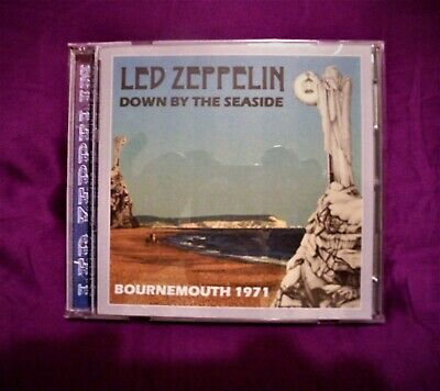 Led Zeppelin  Down By The Seaside  Bournemouth 1971 Double C.D • 12£