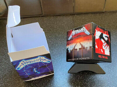 Metallica Rubiks Cube And Presentation Box. Brand New.  1 • 20£