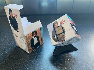 Michael Jackson Rubiks Cube And Presentation Box. Fantastic Christmas Gifts!  5a • 20£