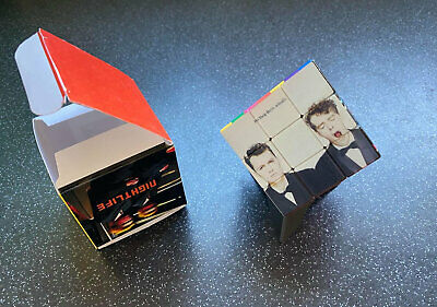 Pet Shop Boys Rubiks Cube And Presentation Box. Amazing Gifts!  5rfh • 20£