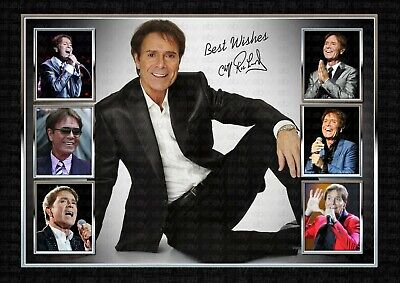 Cliff Richard - Signed Original A4 Photo Print Memorabilia • 7.80£