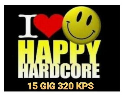 HAPPY HARDCORE CLASSICS N FLOOR FILLERS Full Length MP3 Plug N Play USB 15 GIG  • 26.50£