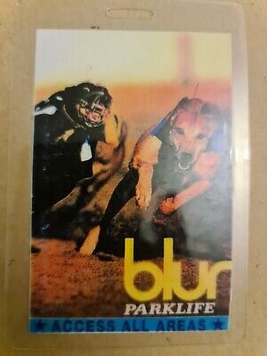 Blur Parkside Access All Areas Tour Laminate  • 9.99£