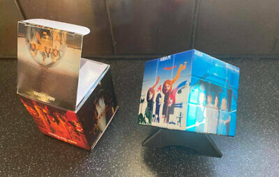 Abba Rubiks Cube, Presentation Box And Display Plinth. Brand New. • 100£