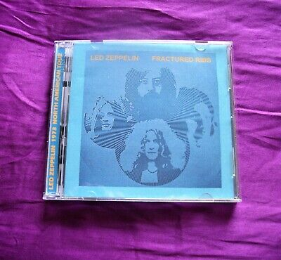 Led Zeppelin Texas 1973 Fractured Ribs Double C.D • 12£