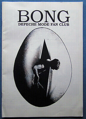 Depeche Mode Fan Club - Bong Magazine 1991 Summer Edition • 20£
